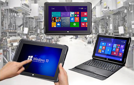Industry 2 in 1 Tablet PC - FPM101-IP65